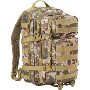 Brandit US Cooper medium reppu, tactical camo | Kamavaja.fi verkkokauppa
