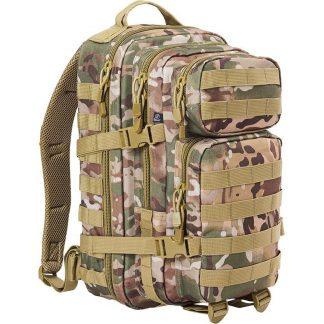 Brandit US Cooper medium reppu, tactical camo | Kamavaja.fi verkkokauppa | Kamavaja.fi verkkokauppa
