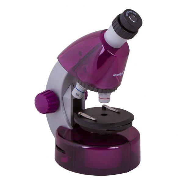 Levenhuk LabZZ M101 lasten mikroskooppi, violetti | Kamavaja.fi Verkkokauppa