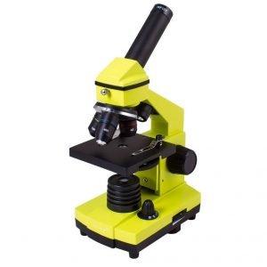 Levenhuk Rainbow 2L PLUS mikroskooppi, lime | Kamavaja.fi Verkkokauppa