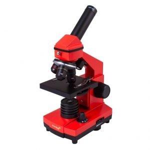 Levenhuk Rainbow 2L PLUS mikroskooppi, punainen | Kamavaja.fi Verkkokauppa