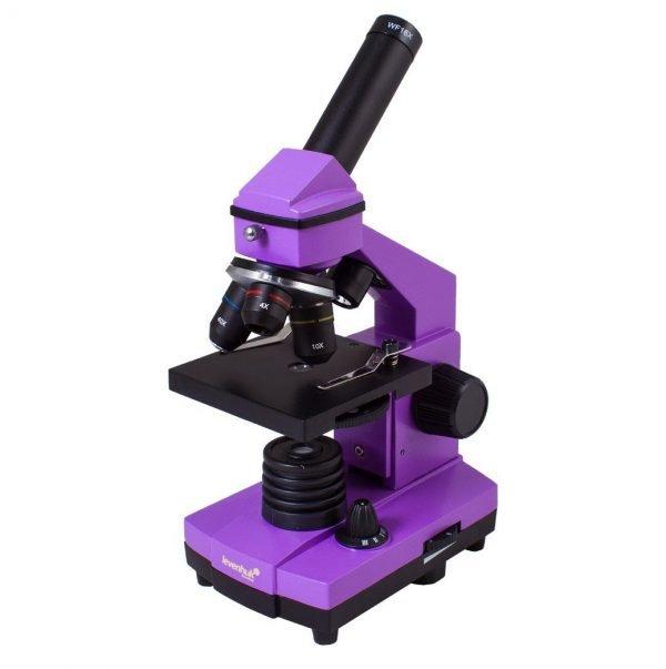 Levenhuk Rainbow 2L PLUS mikroskooppi, violetti   Kamavaja.fi Verkkokauppa