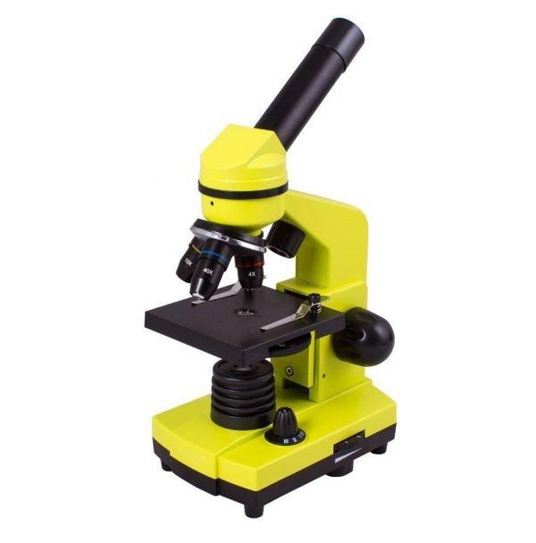 Levenhuk Rainbow 2L lasten mikroskooppi, lime | Kamavaja.fi Verkkokauppa