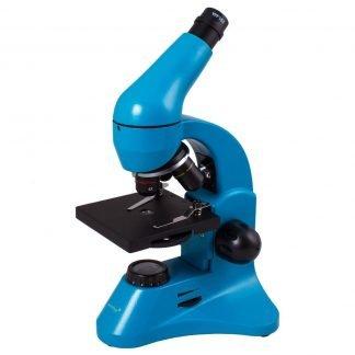 Levenhuk Rainbow 50L PLUS mikroskooppi, sininen | Kamavaja.fi Verkkokauppa | Kamavaja.fi verkkokauppa