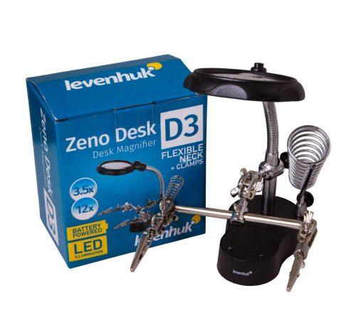 Levenhuk Zeno Desk D3 suurennuslasi 2 | Kamavaja.fi verkkokauppa