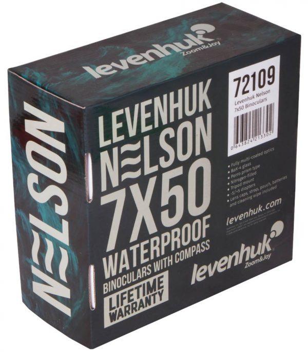 Veneilykiikarit Levenhuk Nelson 7x50 2
