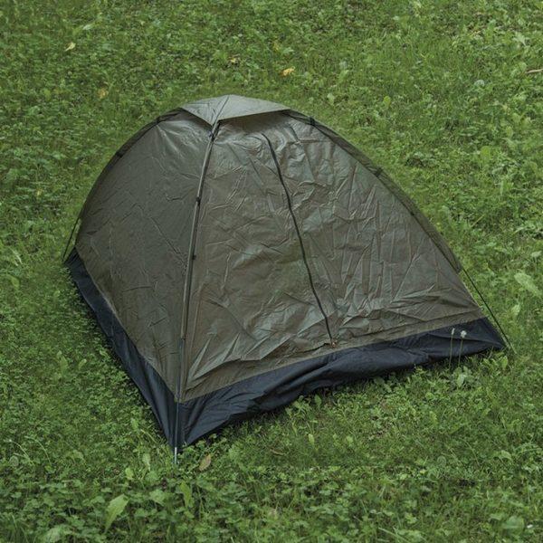 Mil-Tec Iglu super 2 hengen teltta, vihreä | Kamavaja.fi verkkokauppa