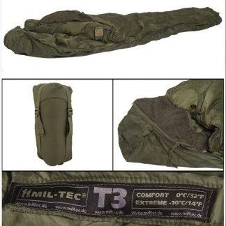 Mil-Tec Tactical 3 makuupussi | Kamavaja.fi verkkokauppa | Kamavaja.fi verkkokauppa