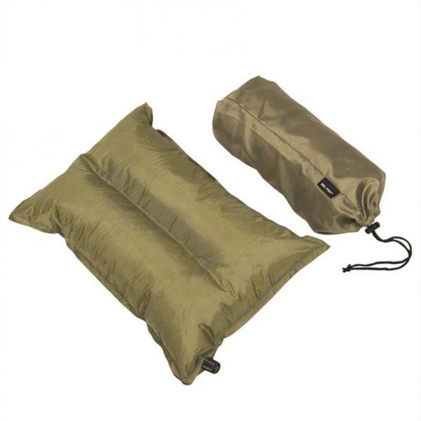 Mil-Tec itsestään täyttyvä tyyny | Kamavaja.fi Verkkokauppa