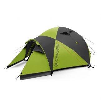 Trimm BASE CAMP-D teltta 3-4 hengelle, lime/harmaa | Kamavaja.fi Verkkokauppa