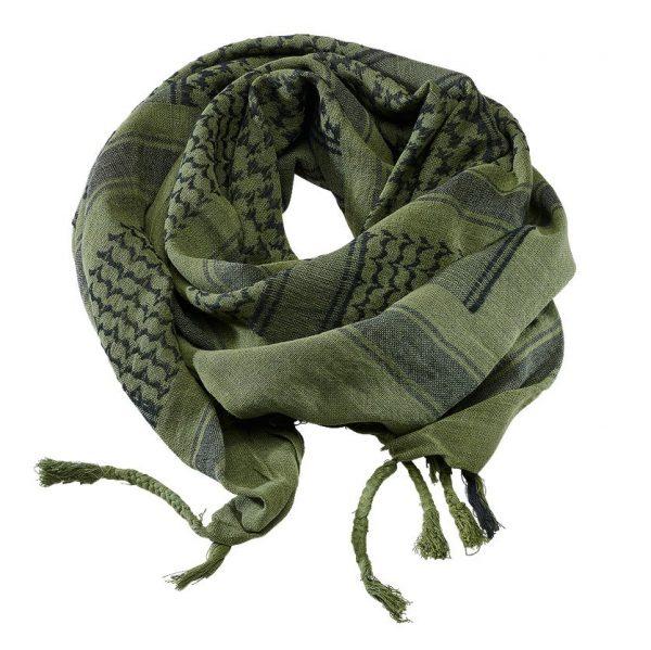 Brandit Shemagh-huivi, oliivi/musta | Kamavaja.fi verkkokauppa