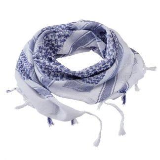 Brandit Shemagh-huivi, sininen/valkoinen | Kamavaja.fi verkkokauppa