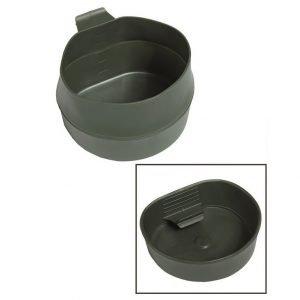 Wildo Fold-A-Cup® taittokuksa 600 ml, vihreä | Kamavaja.fi verkkokauppa