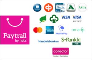 Paytrail maksutavat - Kamavaja.fi verkkokauppa | Kamavaja.fi verkkokauppa