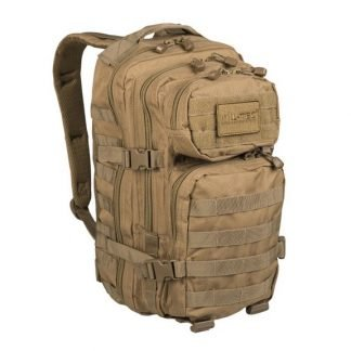 Mil-Tec US Assault reppu 20 l, coyote | Kamavaja.fi verkkokauppa | Kamavaja.fi verkkokauppa
