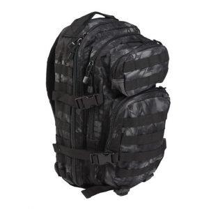 Mil-Tec US Assault reppu 20 l, mandra night | Kamavaja.fi verkkokauppa