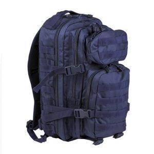 Mil-Tec US Assault reppu 20 l, tummansininen | Kamavaja.fi verkkokauppa