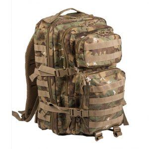 Mil-Tec US Assault reppu 36 l, W-L-arid | Kamavaja.fi verkkokauppa