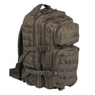 Mil-Tec US Assault reppu 36 l, oliivi | Kamavaja.fi verkkokauppa | Kamavaja.fi verkkokauppa