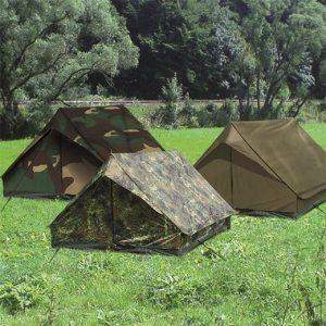Mil-Tec Mini Pack Standard 2 hengen teltta, oliivi | Kamavaja.fi verkkokauppa
