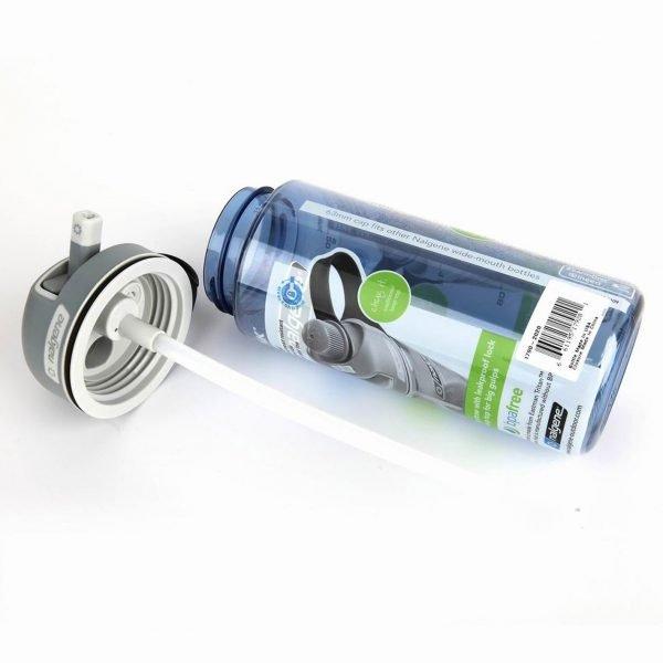 Nalgene Bottle MultiDrink Tritan, sininen   Kamavaja.fi verkkokauppa