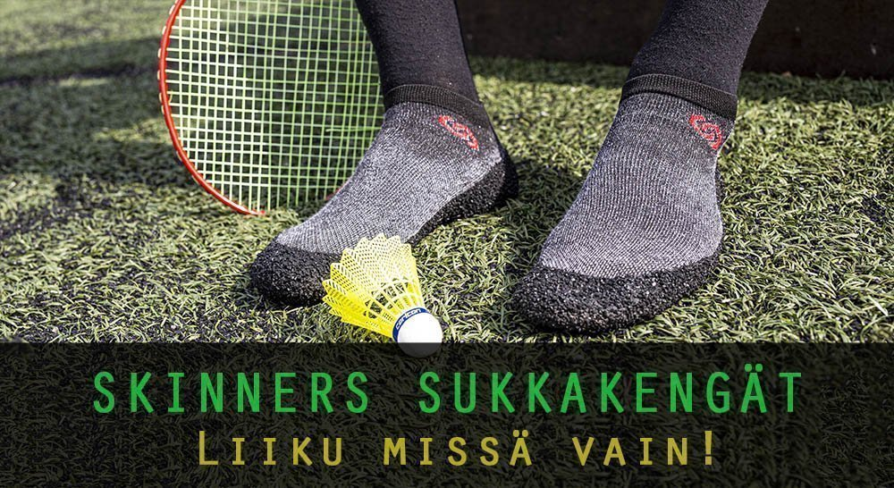 Skinners - sukkakengät, paljasjalkakengät