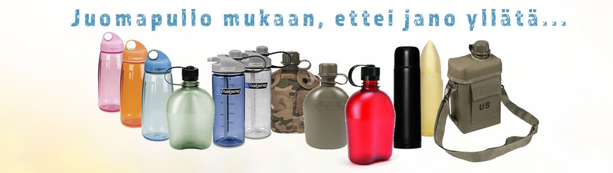 Juomapullot - Kamavaja.fi