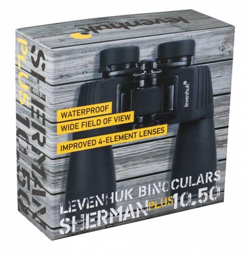 Levenhuk Sherman PLUS 10x50 kiikarit 9 | Kamavaja.fi verkkokauppa