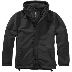 Brandit Frontzip Windbreaker miesten takki musta - Kamavaja