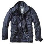 Brandit M-65 Classic sininen miesten takki - Kamavaja.fi verkkokauppa