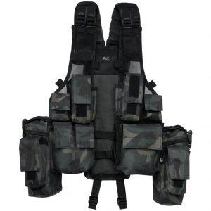 Brandit Tactical Vest darkcamo taktinen liivi