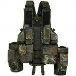 Brandit Tactical Vest flecktarn taktinen liivi