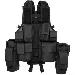 Brandit Tactical Vest musta liivi
