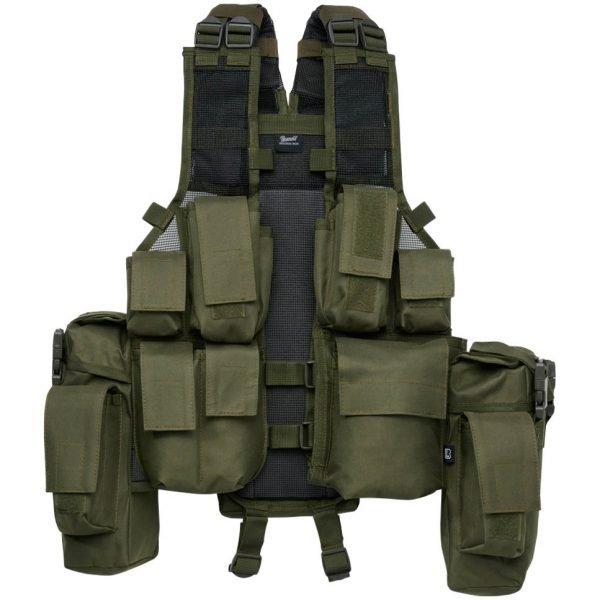 Brandit Tactical Vest oliivi taktinen liivi